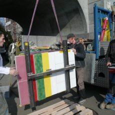 Majolika Wettsteinbrücke