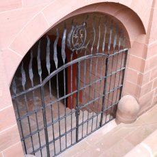 Gitter am Basler Rathaus